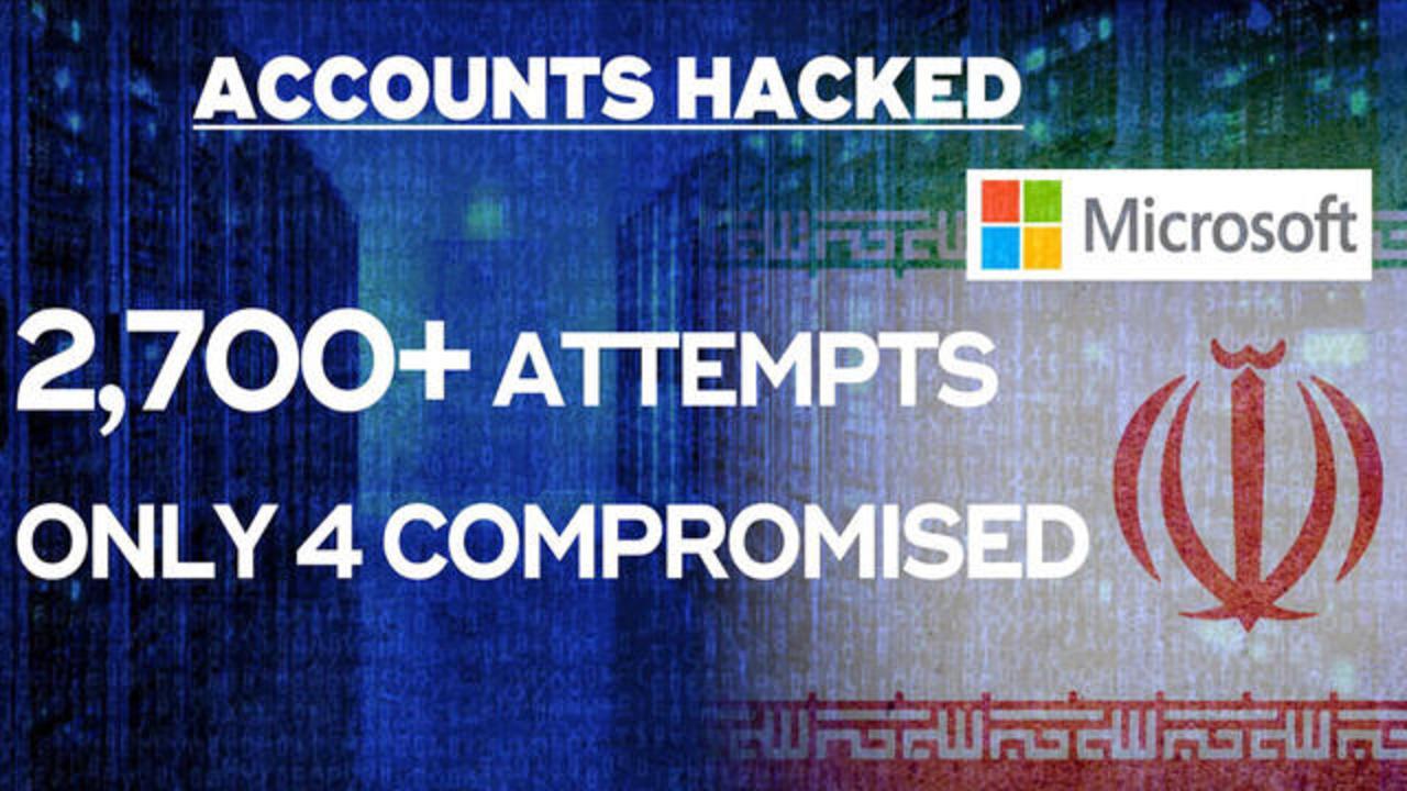 مایکروسافت: ایران شرکتهای دفاعی آمریکا و اسرائیل را هک کرد
